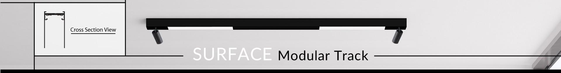 """1.5"""" Surface Modular Track"""