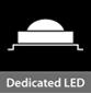 Dedicated LED